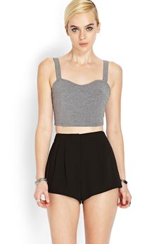 Soft Woven Pleated Shorts £12.75
