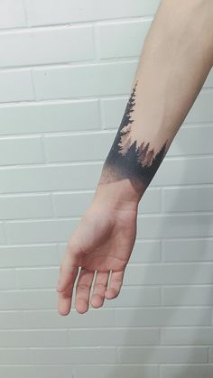 Black forest by . - List of the most beautiful tattoo models Cute Tattoos, Beautiful Tattoos, Black Tattoos, Body Art Tattoos, Small Tattoos, Tattoos For Guys, Natur Tattoo Arm, Natur Tattoos, Tattoo Band