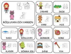Teckenkartor – Fröken Ljusta Sign Language Book, Learn Swedish, Swedish Language, School Signs, Learn Chinese, Preschool, Activities, Writing, Tack