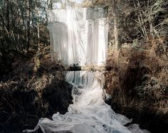 Noemie Goudal, Les Amants (Cascade) Now on at Saatchi Gallery London Saatchi Gallery, Galerie Saatchi, Saatchi Art, Land Art, Les Cascades, London Photos, Looks Cool, Installation Art, Art Installations