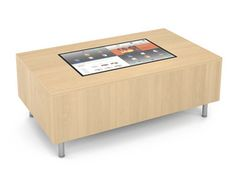 AGATI Furniture - Gee Modular Lounge Table T1Visions Touchscreen