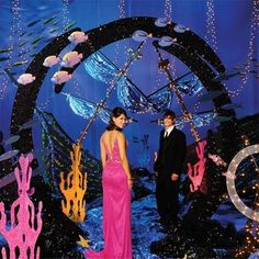 Sunken Treasures Theme-Underwater decorating bliss! Great for Prom or any event.