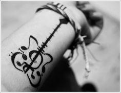 24 Great Guitar Tattoo Designs : Unique Guitar Tattoo Designs For Women On Arm Guitar Tattoo Design, Music Tattoo Designs, Music Tattoos, Small Tattoo Designs, Tattoo Designs For Women, Small Tattoos, Guitar Design, Tattoo Girls, Sexy Tattoos For Girls