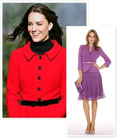 Luisa Spagnoli  The Label Behind Kate Middleton s Red Suit Mar 10 0060441881c