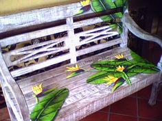 Pintura em banco