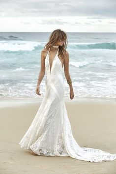 21 Boho Wedding Dresses to Blow Everyone Away | Kabuki Rune Wedding Dressses, Lace Wedding Dress, Bridal Wedding Dresses, Bridesmaid Dresses, Dress Alterations, Bohemian Bride, Beach Dresses, Bridal Collection, Dress Collection