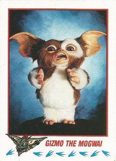 Gremlins 2 trading cards - Gizmo the Mogwai