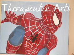 Painted by me, Therapeutic Arts (look for me on facebook!)