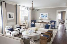 Georgiana Design — Greenwich residence, CT. S. B. Long Interiors.
