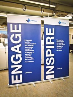 Twitter / LinxPrint: eye-catching retractable banners ...