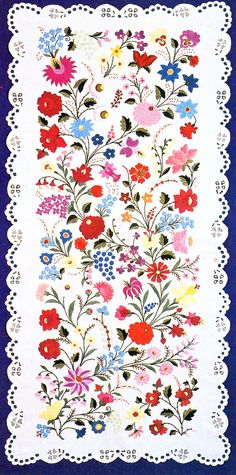 Hello all, Today i will be taking a closer look at the embroidery of Kalocsa. My last posting covered the costume and has more informati...