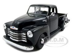 1950 Chevrolet 3100 Pickup Truck Black 1/25 Diecast Model Maisto 31952