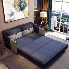 The best sleeper sofa & sofa transitional beds – Home Decor Sofa Cumbed Design, Interior Design, Sofa Bed For Small Spaces, Living Room Decor Furniture, Furniture Ideas, Best Sleeper Sofa, Convertible Furniture, Bedroom Seating, Home
