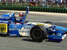 Michael Schumacher (GER) (Mild Seven Benetton Renault), Benetton B195 - Renault…