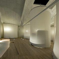 Mino - Antonio Ravalli Architetti Des tentes design pour une auberge de jeunesse..