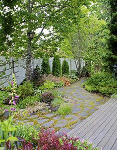House Landscape, Dream Garden, Garden Planning, Balcony, Greenery, Garden Ideas, Landscaping, New Homes, House Ideas