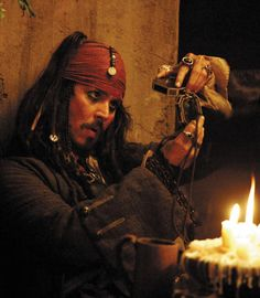 *CAPTAIN JACK SPARROW ~ The Pirates of the Caribbean