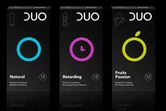 Duo Condoms. Sexo seguro y gráficamente bien codificado