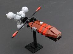 Da Brickpimp iz bringing you da latest an' greatest builder models an' LEGO® news from all ova da internet and shiz. Space Projects, Lego Projects, Cool Robots, Cool Lego, Space Probe, Lego Ship, Lego Spaceship, Ship Drawing, Lego Mechs