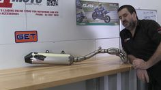 F1MOTO NEW ARRIVAL: HGS 4T STROKE EXHAUST SYSTEMS THIS ONE FOR 14 MX DEV...