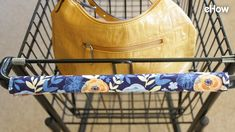 Attach this DIY washable handle cover to your shopping cart as one more line of defense when you venture out to stock up on essential groceries. Small Sewing Projects, Sewing Hacks, Sewing Tutorials, Sewing Crafts, Sewing Patterns, Sewing Ideas, Diy Crafts, Diy Projects, Sewing Tips