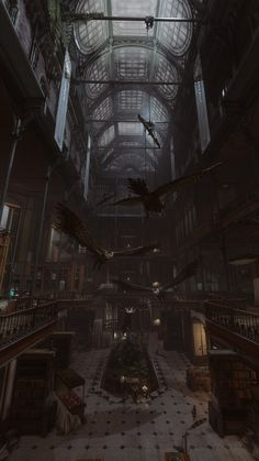 Illustrations Discover Dishonored 2 The Royal Conservatory