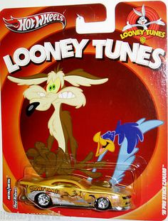 2010 Pro Stock Camaro Hot Wheels 2013 Looney Tunes w/Real Riders & All Metal