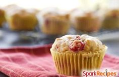 Raspberry, strawberry, blueberry, blackberry--choose any berry you want. You can't go wrong with these healthy, tasty muffins. via @SparkPeople