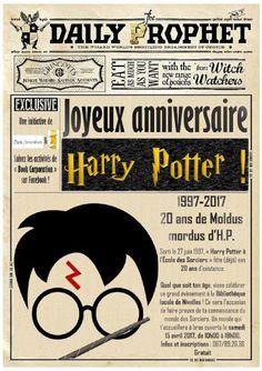 """Escapages: """"Joyeux anniversaire Harry Potter !"""" à la Bibliothèque publique locale de Nivelles (COMPLET)"""