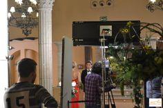 Lujan y Gabi se encuentran en el Palacio de la Misión