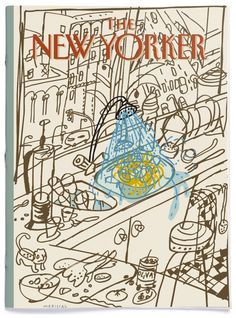 Ilustraciones de portada para la revista The New Yorker.