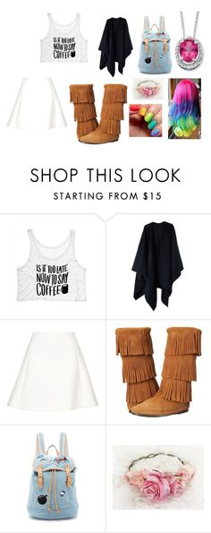 """""""Lizzie's Fun Day outfit"""" by lizzie12304 on Polyvore featuring Acne Studios, Neil Barrett, Minnetonka, Paul & Joe Sister and Palm Beach Jewelry"""