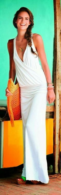 Fashion for Everybody: Amazing White Dress for Ladies