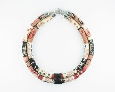 Seed Bead Necklace / Statement Necklace / Ethnic Jewelry by EmelieJones on Etsy https://www.etsy.com/listing/268042645/seed-bead-necklace-statement-necklace