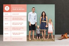 Year in Review by nocciola design at minted.com