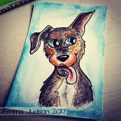 Doodling dogs :)