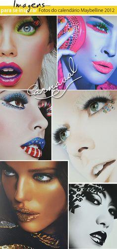 MakeUp | Carnaval  #ideias #maybelline