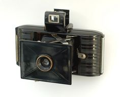 Kodak Bantam (f6.3)  Designed by Walter Dorwin Teague.  This camera was made from 1938-47.