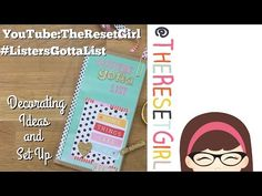 ▶ TheResetGirl's #ListersGottaList™ Challenge – Setting Up Your Lists - YouTube