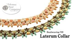 """This video tutorial from The Potomac Bead Company teaches you how to make our own """"Laterum Collar"""" necklace. The word """"laterum"""" is latin for """"tile"""" and this ..."""