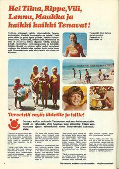 Lapsille on ollut kohteissa ohjelmaa jo 70-luvullakin.