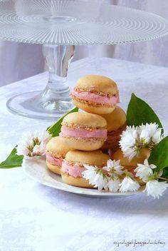mijn dagelijkse gedachten: Hazelnut Raspberry Macarons/Макаронс из Фундука с Малиной