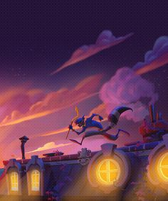 sly cooper concept art | melissa-skywalker:Sly Cooper: Thieves in Time concept art - Paris [x]