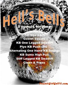Hell's Bells Workout