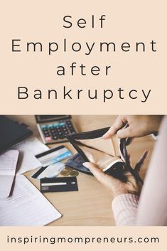 There is nothing that quite strikes fear into an Entrepreneur's heart as the thought of bankruptcy. Would you choose self-employment after bankruptcy? Private Finance, 5 Year Plan, Apply For A Loan, Self Employment, How To Get, How To Plan, Things That Bounce, Entrepreneur, Business