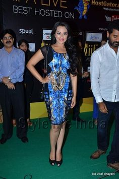 Sonakshi Sinha in Falguni & Shane Peacock dress at IIFA rocks 2012 http://shar.es/qPi1R