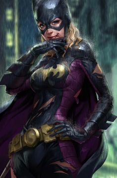 See Batgirl's costume history over the years. Read about the different Batgirl costumes Barbara Gordon, Bette Kane, Helena Bertinelli, Cassandra Cain and Stephanie Brown have worn while fighting under Batman's banner. Ms Marvel, Marvel Dc Comics, Heros Comics, Bd Comics, Comics Girls, Captain Marvel, Captain America, Nightwing, Batman And Batgirl
