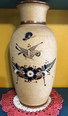 33cm Teal Blue Speckle Ceramic Flower Holder Vase Lantern Ornament Hanging