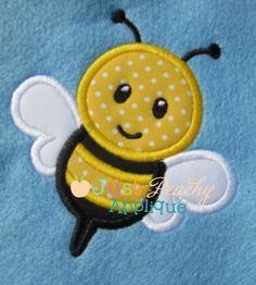 Bee Applique Design