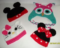 Hand crocheted baby girl or baby boy hat perfect for by MadebyMily, $12.00